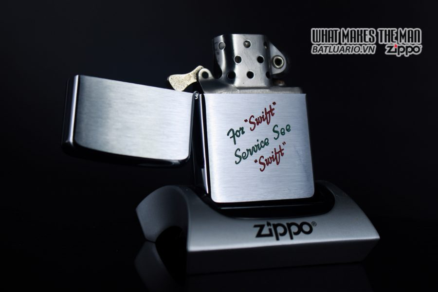 ZIPPO XƯA 1957 – FOR SWIFT SERVICE SEE SWIFT 1