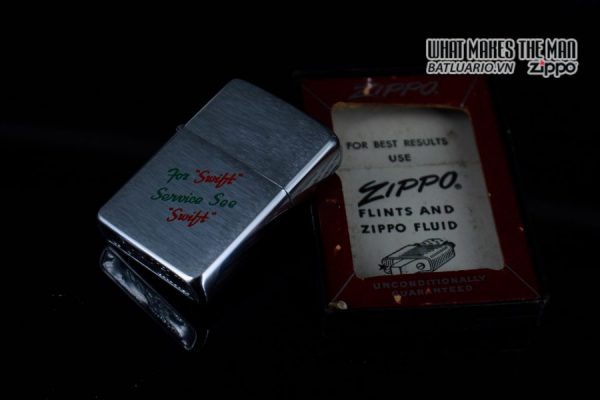 ZIPPO XƯA 1957 – FOR SWIFT SERVICE SEE SWIFT 2