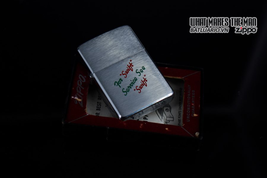 ZIPPO XƯA 1957 – FOR SWIFT SERVICE SEE SWIFT 3