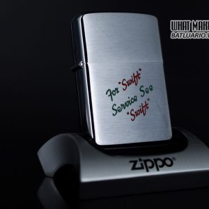 ZIPPO XƯA 1957 – FOR SWIFT SERVICE SEE SWIFT