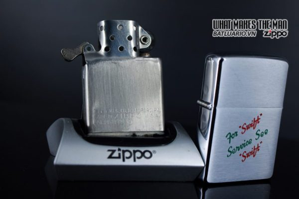 ZIPPO XƯA 1957 – FOR SWIFT SERVICE SEE SWIFT 4