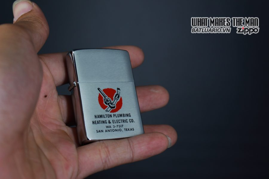 ZIPPO XƯA 1961 – HAMILTON PLUMBING HEATING & ELECTRIC CO 11