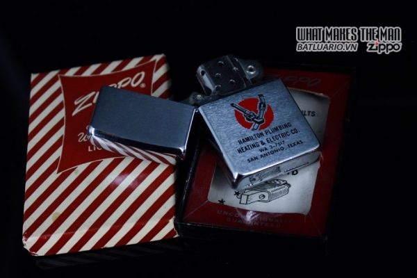 ZIPPO XƯA 1961 – HAMILTON PLUMBING HEATING & ELECTRIC CO 13
