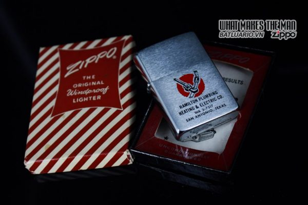 ZIPPO XƯA 1961 – HAMILTON PLUMBING HEATING & ELECTRIC CO 14