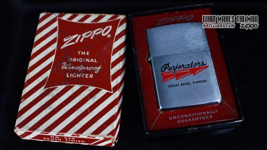 ZIPPO XƯA 1961 – PERFORATORS 2