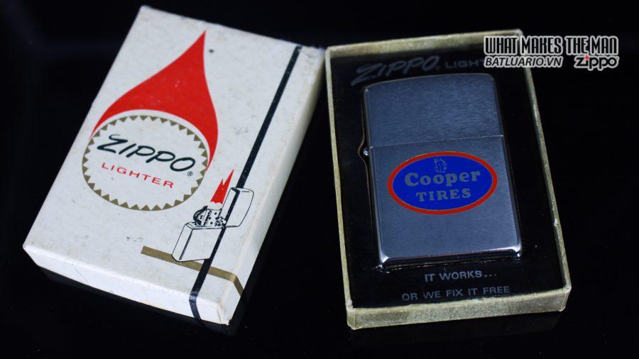 ZIPPO XƯA 1970 – COPPER TIRES 1