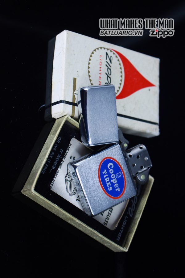 ZIPPO XƯA 1970 – COPPER TIRES 10