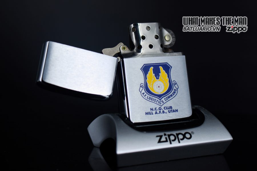 ZIPPO XƯA 1972 – N.C.O. CLUB HILL AIR FORCE BASE UTAH 7