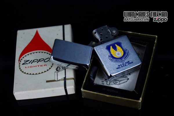 ZIPPO XƯA 1972 – N.C.O. CLUB HILL AIR FORCE BASE UTAH 9