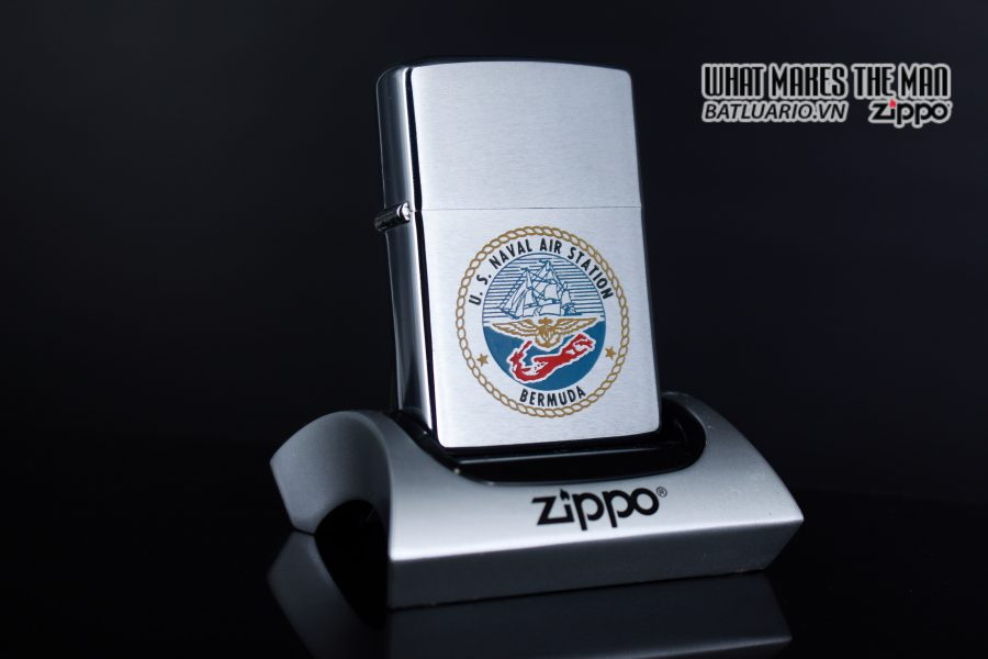 ZIPPO XƯA 1973 – US NAVAL AIR STATION BERMUDA