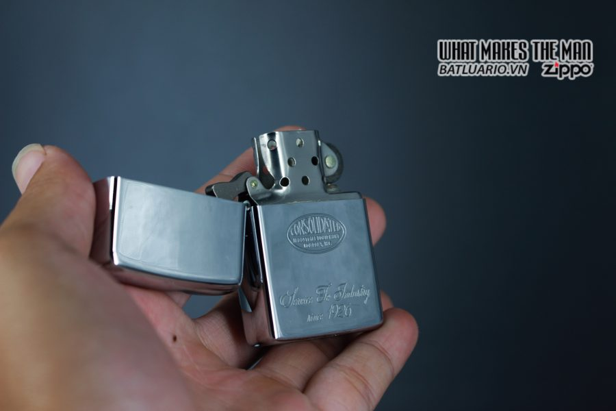 ZIPPO XƯA 1974 – CONSOLIDATED 8