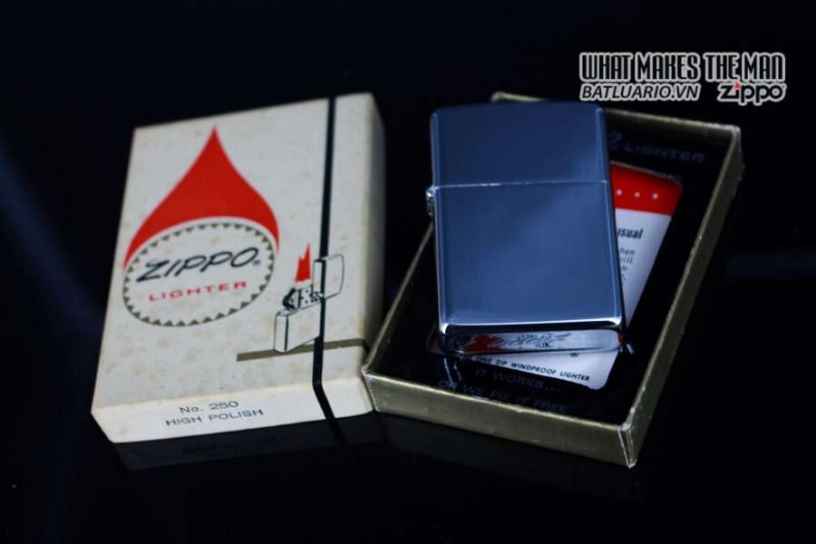 ZIPPO XƯA 1974 – PLAIN HIGH POLISHED – TRƠN 2 MẶT 11