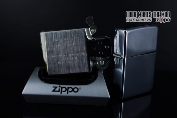ZIPPO XƯA 1974 – PLAIN HIGH POLISHED – TRƠN 2 MẶT 3