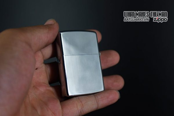 ZIPPO XƯA 1974 – PLAIN HIGH POLISHED – TRƠN 2 MẶT 4
