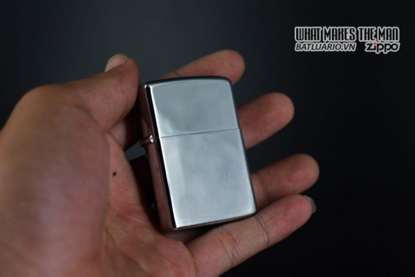 ZIPPO XƯA 1974 – PLAIN HIGH POLISHED – TRƠN 2 MẶT 5