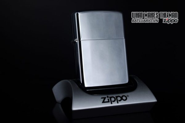 ZIPPO XƯA 1974 – PLAIN HIGH POLISHED – TRƠN 2 MẶT