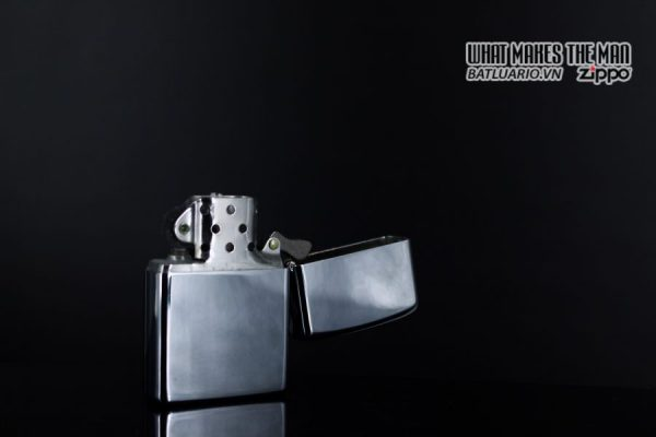 ZIPPO XƯA 1974 – PLAIN HIGH POLISHED – TRƠN 2 MẶT 7