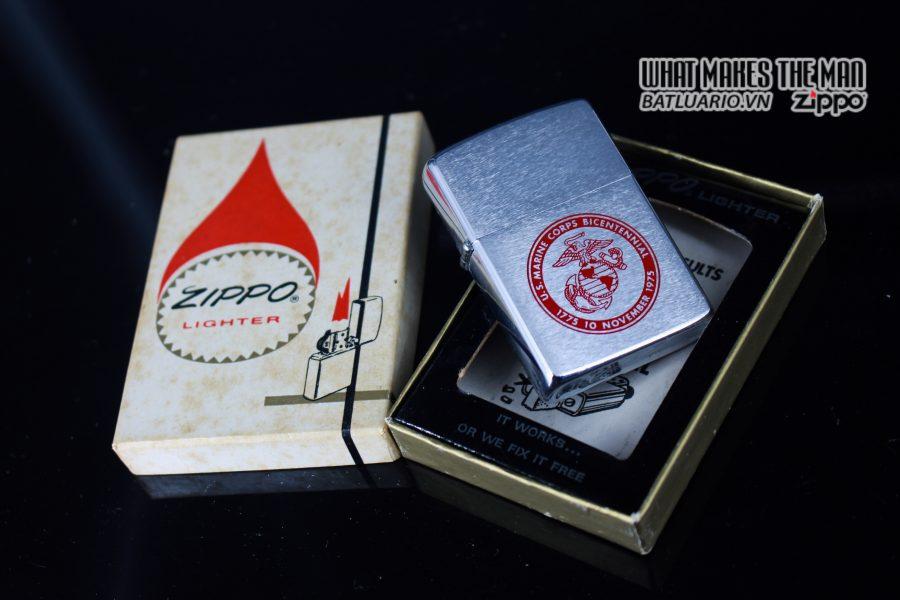 ZIPPO XƯA 1975 – US MARINE CORPS BICENTENNIAL 10
