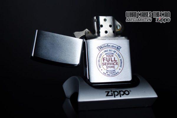 ZIPPO XƯA 1977 – BADCOCK 9