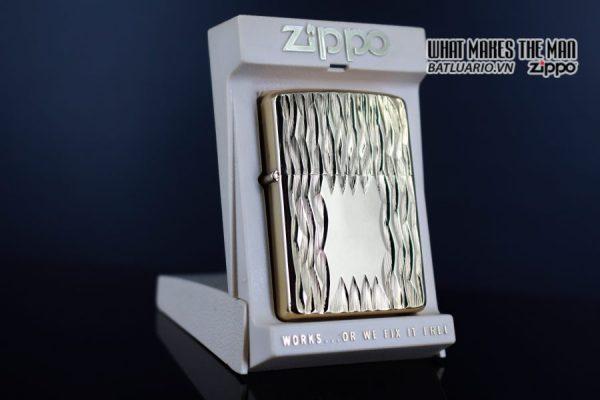 ZIPPO XƯA 1980 – GOLD PLATE GOLDEN ELEGANCE – MẠ VÀNG 22K 1