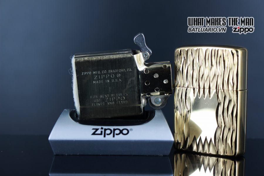 ZIPPO XƯA 1980 – GOLD PLATE GOLDEN ELEGANCE – MẠ VÀNG 22K 4