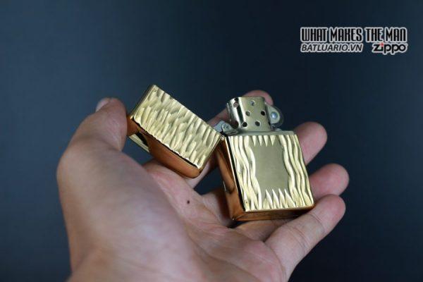 ZIPPO XƯA 1980 – GOLD PLATE GOLDEN ELEGANCE – MẠ VÀNG 22K 5