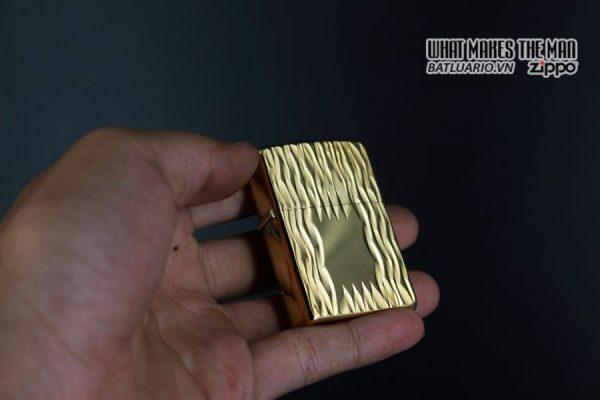 ZIPPO XƯA 1980 – GOLD PLATE GOLDEN ELEGANCE – MẠ VÀNG 22K 6