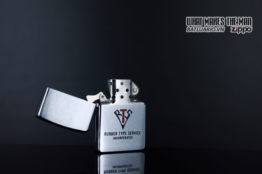ZIPPO XƯA 1980 – RUBBER TYPE SERVICE INCORPORATED 3