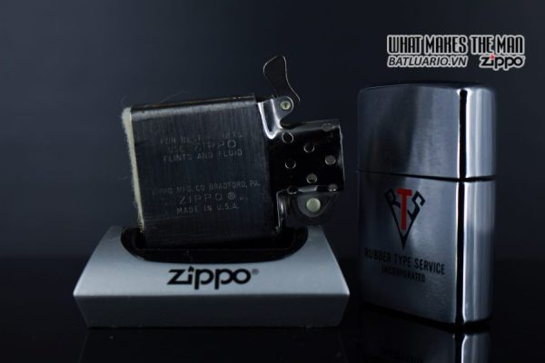 ZIPPO XƯA 1980 – RUBBER TYPE SERVICE INCORPORATED 5