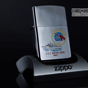 ZIPPO XƯA 1981 – USS NORTON SOUND AVM 1