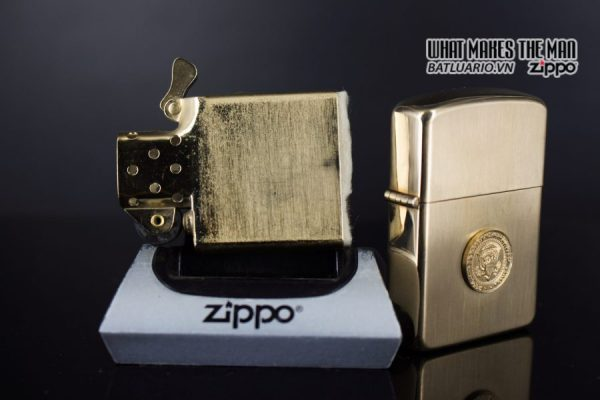 ZIPPO 1960S – 10K GOLD FILLED – LYNDON JOHNSON 3