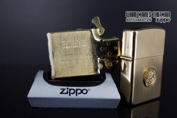 ZIPPO 1960S – 10K GOLD FILLED – LYNDON JOHNSON 4