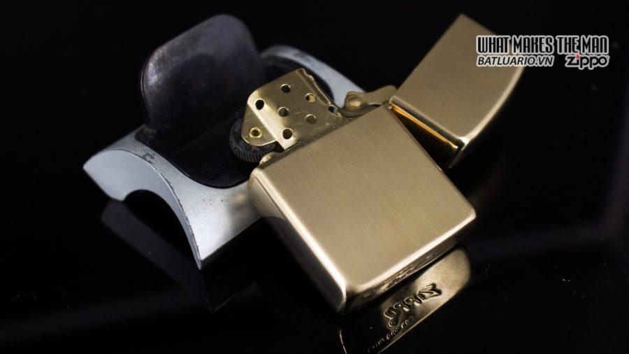 ZIPPO 1960S – 10K GOLD FILLED – LYNDON JOHNSON 5