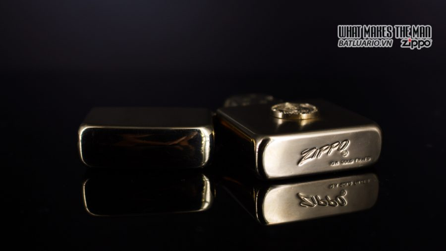 ZIPPO 1960S – 10K GOLD FILLED – LYNDON JOHNSON 6