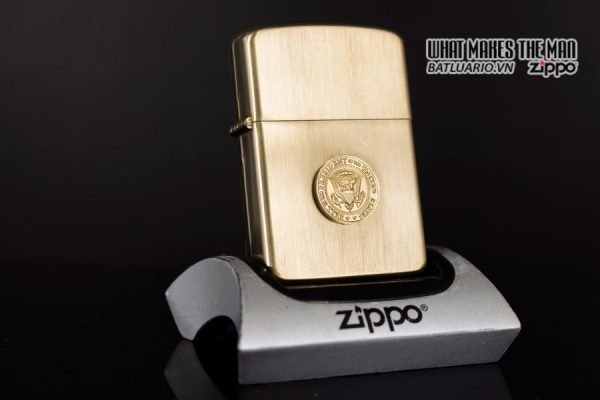 ZIPPO 1960S – 10K GOLD FILLED – LYNDON JOHNSON