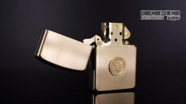 ZIPPO 1960S – 10K GOLD FILLED – LYNDON JOHNSON 7