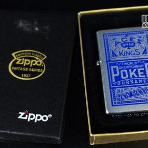 ZIPPO 2001 – ZIPPO MARLBORO ACES/KINGS BLUE WORLD CHAMPIONSHIP POKER 1