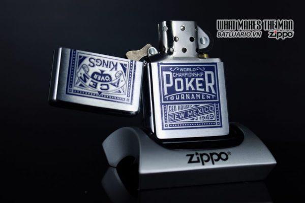 ZIPPO 2001 – ZIPPO MARLBORO ACES/KINGS BLUE WORLD CHAMPIONSHIP POKER 10