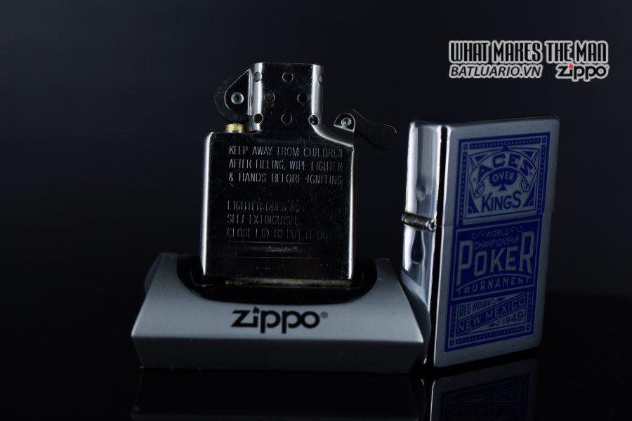 ZIPPO 2001 – ZIPPO MARLBORO ACES/KINGS BLUE WORLD CHAMPIONSHIP POKER 3