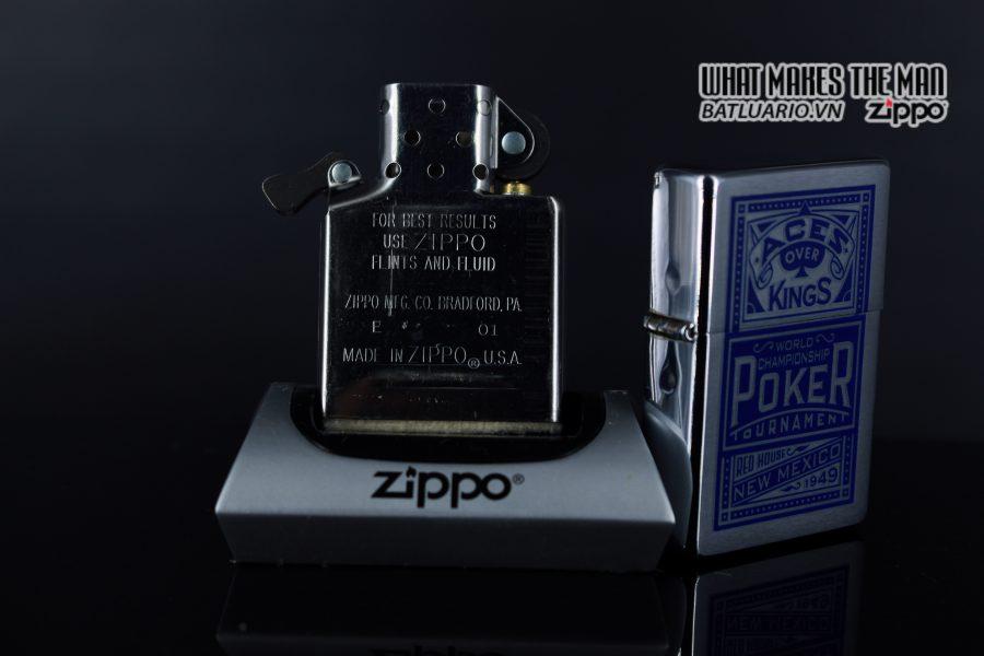 ZIPPO 2001 – ZIPPO MARLBORO ACES/KINGS BLUE WORLD CHAMPIONSHIP POKER 4