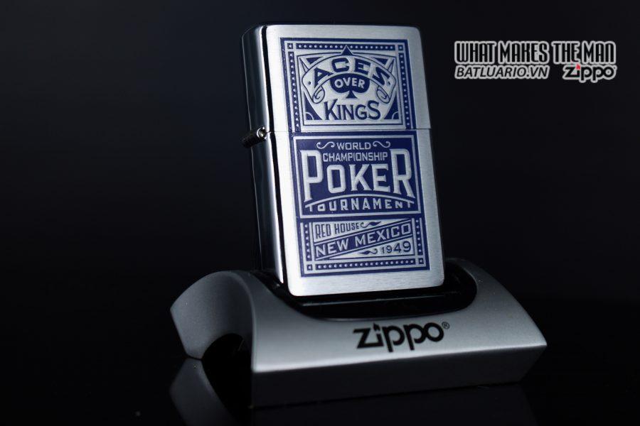 ZIPPO 2001 – ZIPPO MARLBORO ACES/KINGS BLUE WORLD CHAMPIONSHIP POKER