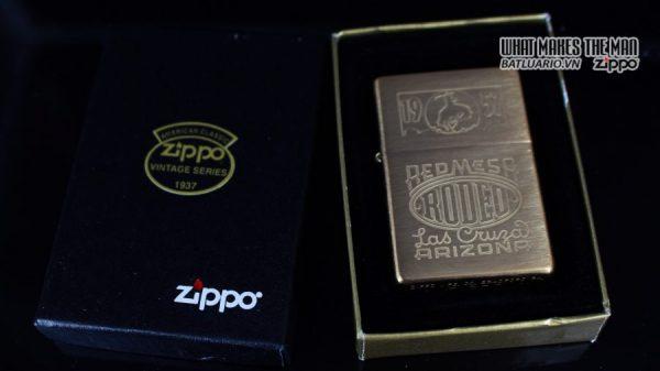 ZIPPO 2001 – ZIPPO RED MESA RODEO MARLBORO LAS CRUZA ARIZONA 1