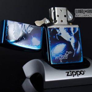 ZIPPO 2008 – CLAUDIO MAZZI FANTASY SAPPHIRE 1
