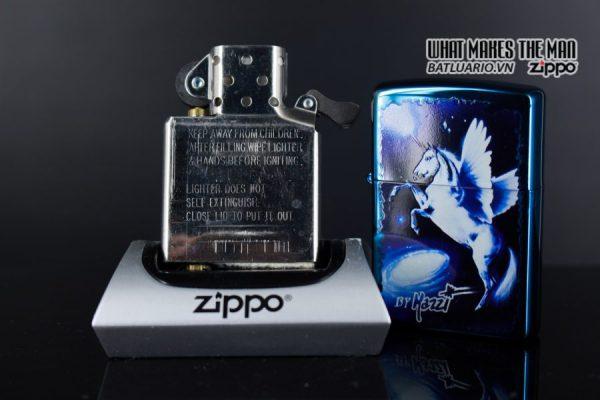 ZIPPO 2008 – CLAUDIO MAZZI FANTASY SAPPHIRE 3