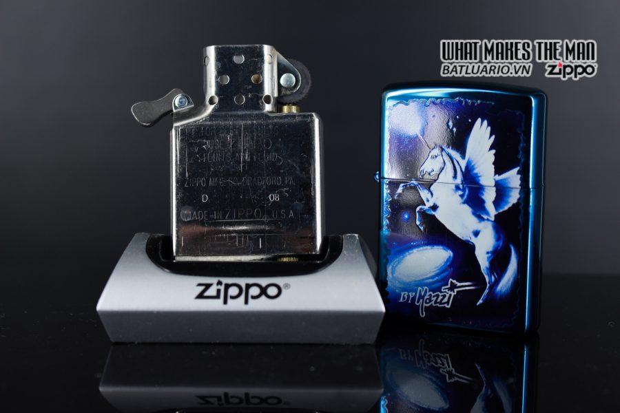 ZIPPO 2008 – CLAUDIO MAZZI FANTASY SAPPHIRE 4