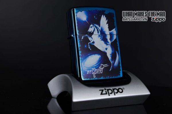 ZIPPO 2008 – CLAUDIO MAZZI FANTASY SAPPHIRE