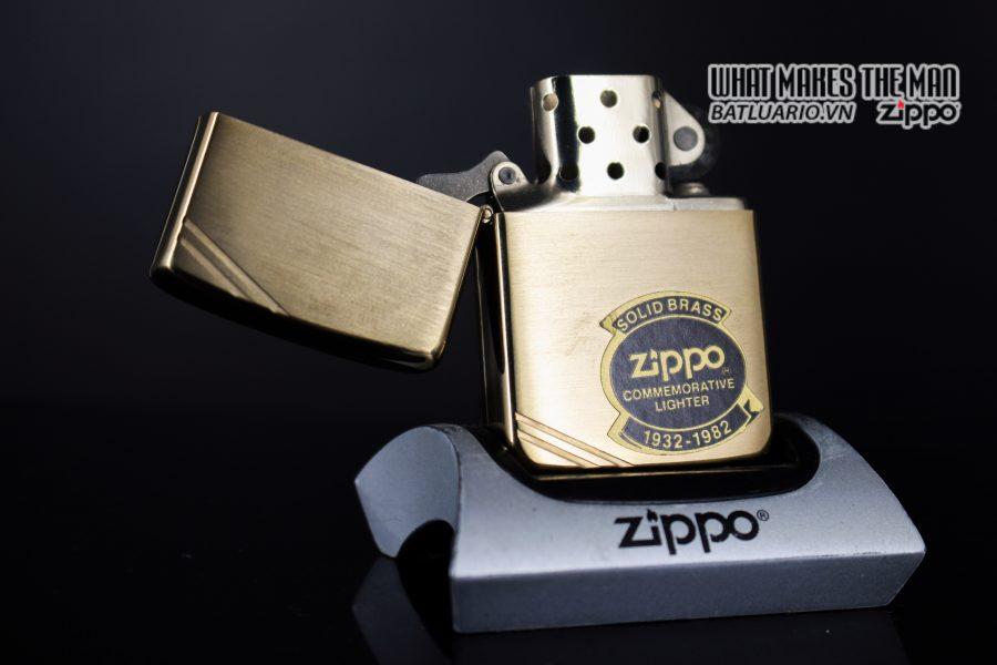 ZIPPO COMMEMORATIVE 1932 – 1982 – 50TH ANNIVERSARY 6