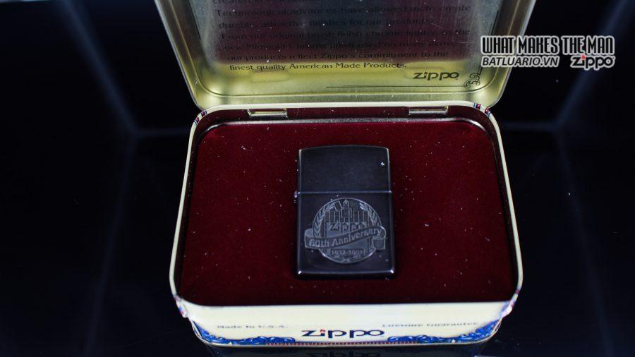 ZIPPO COTY 1992 – 1932 – 1992 – 60TH ANNIVERSARY