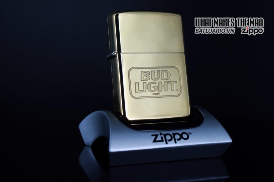 ZIPPO LA MÃ 1993 – BUD LIGHT BEER