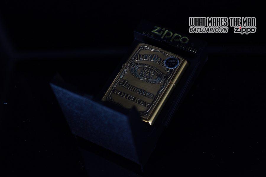 ZIPPO LA MÃ 2000 – JACK DANIEL'S OLD NO.7 1